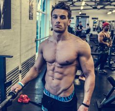 The incredibly fit Marc Fitt