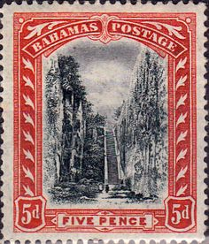 Bahamas 1901 Queens Staircase SG 58 Fine Mint Scott 33 Other Bahamas Stamps HERE