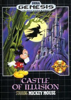 Castle of Illusion ~ starring Mickey Mouse - Sega Megadrive / Genesis