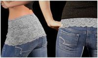 Cami Bands - can use to lengthen shirts or up top for shirts that are low-cut.