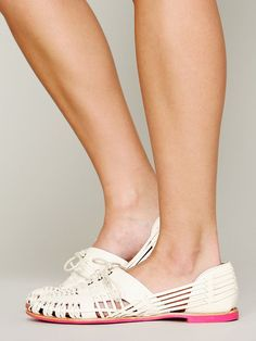 DV by Dolce Vita Getaway Hurache Flat at Free People Clothing Boutique