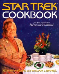 @Overstock.com - Is there one food that humans, Klingons, Bajorans, and Vulcans would like? If so, what would it taste like? How would you prepare it? Could you find all the ingredients locally? This is the task t...http://www.overstock.com/Books-Movies-Music-Games/Star-Trek-Cookbook/329820/product.html?CID=214117 $16.76