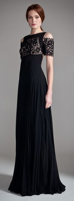 Temperley London - Long Catherine This is lovely and as inspiration for a makeover  - would be a lovely short dress as well