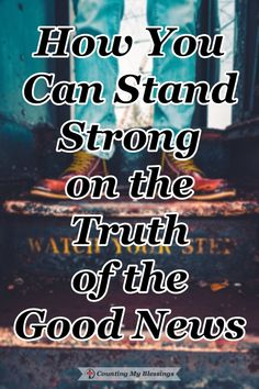 Are you tired of feeling weak because of worry and anxiety? Did you know you can stand strong every day on Good News that is Truth? Check this out... #Strength #Truth #Blessings Walk By Faith, Faith In God, Words Of Gratitude, Always Remember Me, I Need Jesus, Our Father In Heaven, Feeling Weak, Stand Strong, Find Quotes