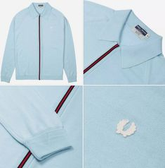 Something of a departure for the label, but I do like the look of this Fred Perry zip-through Italian knitted cardigan. Stripes Design, Red Stripes, Hip Store, Mens Outdoor Jackets, Retro Fashion, Mens Fashion, Retro Ideas, Fred Perry, Knits