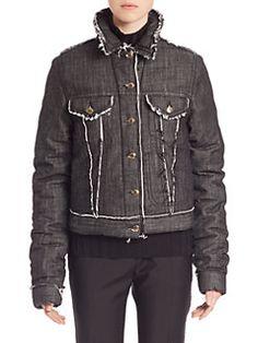 Acne Studios - Raw-Edge Denim Jacket