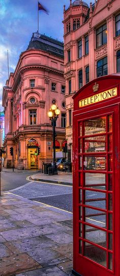 Street scene ~ London, England,