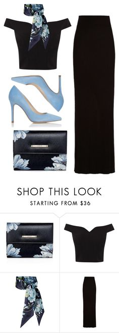 """""""Unkiss me"""" by forever-young89 ❤ liked on Polyvore featuring Coast, Gucci, Enza Costa and L.K.Bennett"""