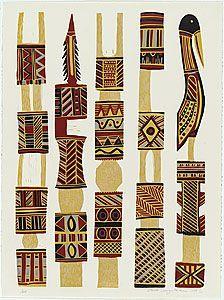 australian aboriginal totem poles - Google Search Indigenous Art, Aboriginal Art, Everyday Objects, Elementary Art, Color Pallets, Garden Art, Art For Kids, Art Projects, Totem Poles