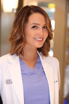 Love greys anatomy and digging this hairstyle