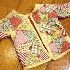 how to make a patchwork jacket
