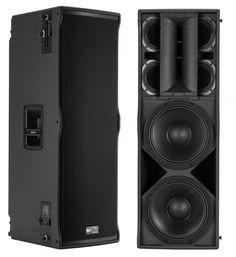 Audio pa Pro Audio Speakers, Horn Speakers, Monitor Speakers, Diy Speakers, Subwoofer Box Design, Speaker Box Design, Sound Room, Woofer Speaker, Speaker Plans