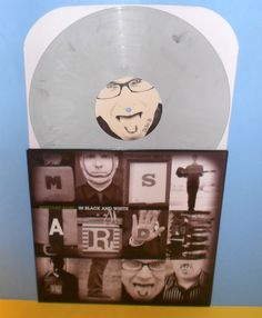 MUSTARD PLUG in black and white Lp Record COLORED MARBLE Vinyl , ska punk