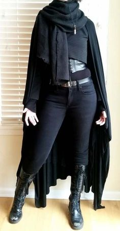 Another year on the job another Star Wars inspired outfit! - Ideas of Star Wars Outfits - Another year on the job another Star Wars inspired outfit! Dark Fashion, Gothic Fashion, Trendy Fashion, Fashion Outfits, Fashion Clothes, Modern Steampunk Fashion, Street Fashion, Punk Clothes, Grunge Fashion