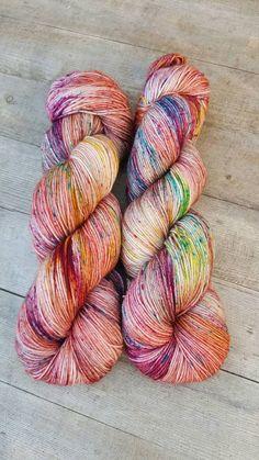 Suzy Parker Yarns | Speckled Yarn | Etsy