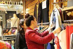 Tour de compras con @Golden_strokes en tienda Pippa @consultoradeimagen