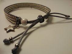 Prachtige miyuki armband €12,50