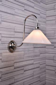 Discover handmade contemporary bathroom lighting, a great way to modernise your Bathroom Decor Glass Wall Lights, Bathroom Wall Lights, Contemporary Bathroom Lighting, Modern Bathroom Design, Traditional Bathroom, Modern Decor, Stylish, Handmade, Home Decor