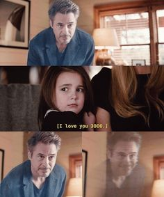 Stark and morgan The Avengers, Avengers Movies, Marvel Characters, Marvel Movies, Marvel Funny, Marvel Dc, Marvel Universe, Iron Man Tony Stark, Pixar
