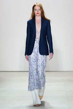 Interview Outfit - Jenny Packham 2016, New York Fashion Week Runway Photos