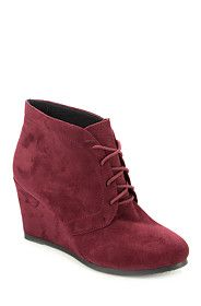 WEDGE LACE UP