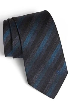 Silk tie SILK TIE with Leo