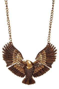 Eagle My Neck Necklace