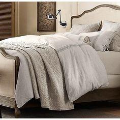 Belgian Linen Provence Stripe Bedding Collection | Restoration Hardware