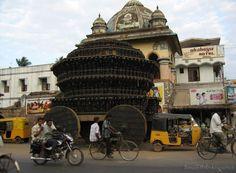 Ratha ( Chariot ) at Chidambaram : Front of Nataraja Temple