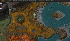 Fã cria site que mistura Google Maps com World of Warcraft