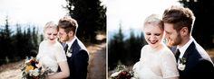Mountainside wedding on Mount Hood, Oregon. Photos by Olivia Strohm Photography, edited with Mastin Labs Portra 160 film emulation preset.