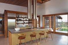 The kitchen island m