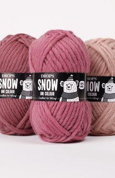 DROPS Snow - Excellent for felting! Shade Card, Eskimo, Knitting Patterns, Crochet Patterns, Online Yarn Store, Sock Yarn, Drops Design, Fibres, Yarn Colors