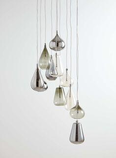 Smoke Nadine Cluster Light - Ceiling Lights - Home, Lighting & Furniture - BHS