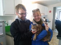 ARLO kitty, Oliver, is going to be snuggly warm in his new home tonight.