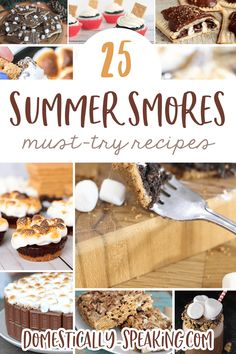 Best Comfort Foods 25 Summer Smore Reci Food & Drink Healthy Snacks Nutrition Cocktail Recipes 25 Summer Smore Recipes that you'll want to enjoy during the summer and throughout the year. Great cakes bars tarts and more! Easy No Bake Desserts, Mini Desserts, Delicious Desserts, Dessert Recipes, Trifle Pudding, Homemade Snickers, Cheesecake Desserts, Strawberry Desserts, Chocolate Recipes