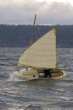 "Plans to build a tough little (11'11""!) sailboat."