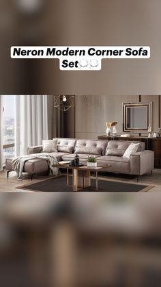 Oak Furniture Land, Living Room Furniture, Diy Furniture, Furniture Design, Modern Sofa Designs, Sofa Set Designs, Modern Luxury Bedroom, Luxurious Bedrooms, Living Room Sofa Design