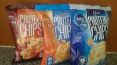 I try to take in as much protein as possible.  You can only eat so much chicken, right?  I had not heard of Quest Protein Chips, until recently.  You know I had to break the monotony and try these chips.