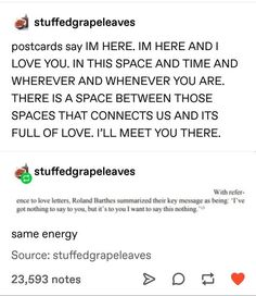 postcards and love letters Pretty Words, Beautiful Words, Writing Tips, Writing Prompts, Comics Sketch, Tumblr Posts, Love Letters, Tumblr Funny, Make Me Happy