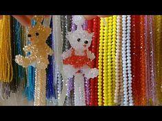 用料: ①串珠 4mm銀彩金香檳色珠子 * 590顆(球30顆 + 熊374顆 + 流蘇186顆) 6mm銀彩金香檳色珠子 * 6顆 8mm銀彩金香檳色珠子 * 1顆 6mm 黑色珠子 * 3顆 6mm 大紅珠子 * 1顆 ②魚線 0.4mm : 160cm + 200cm + 75cm*2 + 60cm 6股線...