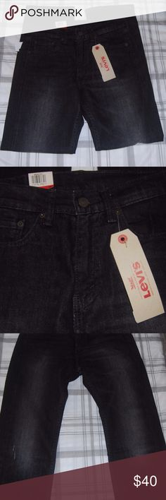 Mens Levis 505 Jeans Regular Fits Black Mens Levis 505 Jeans Regular Fit Size 29 x 30 Black Straight Leg  * Men's Levis 505 Jeans * Regular Fit * Size W29 x L30 * Color Black * Straight Leg * Sits at waist * Extra room in thing Levi's Jeans