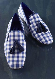 Hadleighs Gingham Slippers