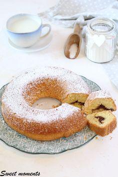 #ciambella #cocco #nutella #cake #colazione #merenda #gialloblog #giallozafferano #foodblogger #foodblog