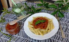 Cuketová zmes nielen na hrianky - Recept Zucchini, Waffles, Spaghetti, Breakfast, Ethnic Recipes, Food, Morning Coffee, Essen, Waffle