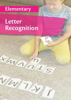 Check Out This Fun Game That Teaches Students Letter Recognition With Free Printable To Use