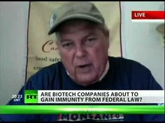 Monsanto Rider.....The United States is experiencing itsworst drought since the 1950's, but that's not the only thing affecting your food supply these days - a new bill aimed at helping one  company in particular is changing the American food chain for the  worse. Ronnie Cummins of the Organic Consumers Association joins RT's Liz Wahl for more.    Like us and/or fol...