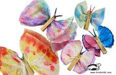 Paper Napkin BUTTERFLIES