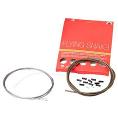 Transfil Flying Snake Gear Cable Set Gear Cables The Carbon Kevlar outer casing makes the Flying Snake 30% lighter than most other cable sets. The Flying Snake is a result of the latest research in transmission technology. http://www.MightGet.com/january-2017-11/transfil-flying-snake-gear-cable-set-gear-cables.asp