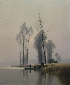 Alexandre-Louis Jacob | Landscape painter | Tutt'Art@ | Pittura * Scultura * Poesia * Musica |